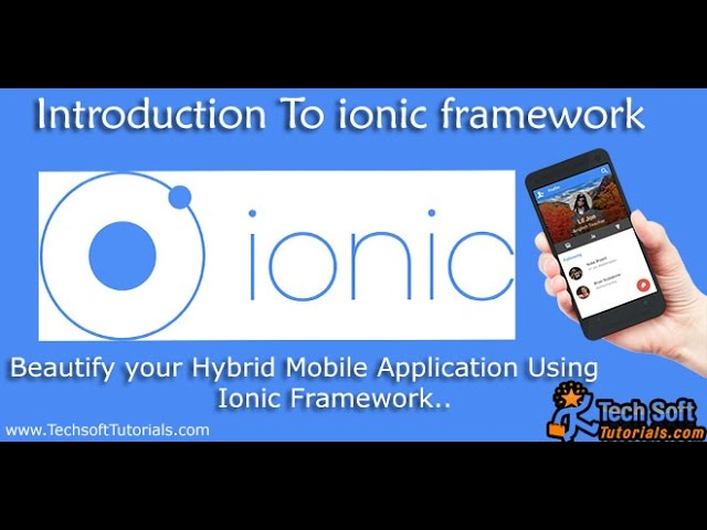 how to install ionic framework in windows
