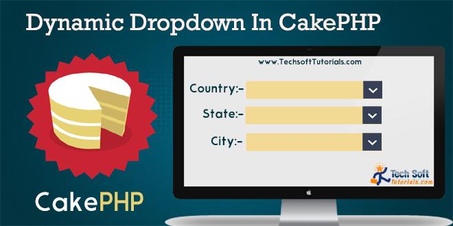 Dynamic dropdown in cakephp 2 0 (Selectbox)